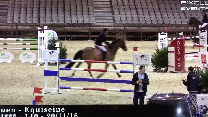 Today, the fabulous  #Bonheur and I had fun… 2nd place for us! Oggi il favolos…