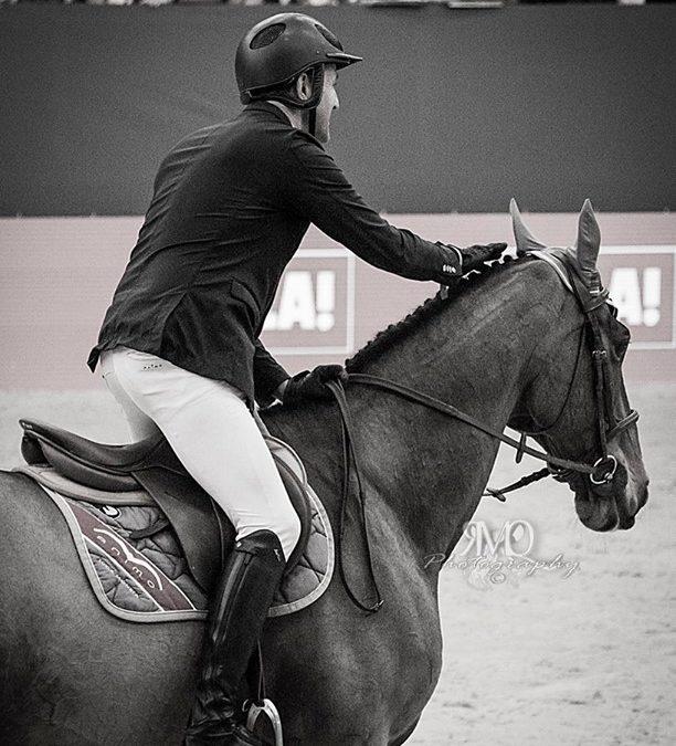 Luca Moneta Horsemanship & Neptune Brecourt before a great jump into the six bar…