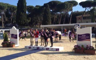 L'Inno di Mameli suona a Piazza di Siena! ??????…