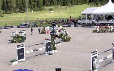 11° Luca Maria Moneta Longines CSI St. Moritz CSI5* Grand Prix 1.60m Sunday Augu…
