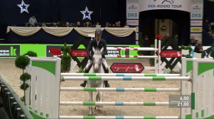 AND THE FLYING VIKING DU BARY AT HIS FIRST CSI4* SHOW…21° Luca Moneta Horseman…